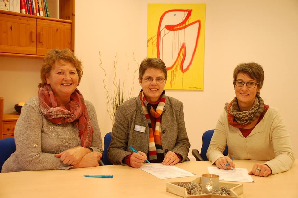 Zusammenarbeit mit dem Ambulanten Hospizdienst der Johanniter in Löningen