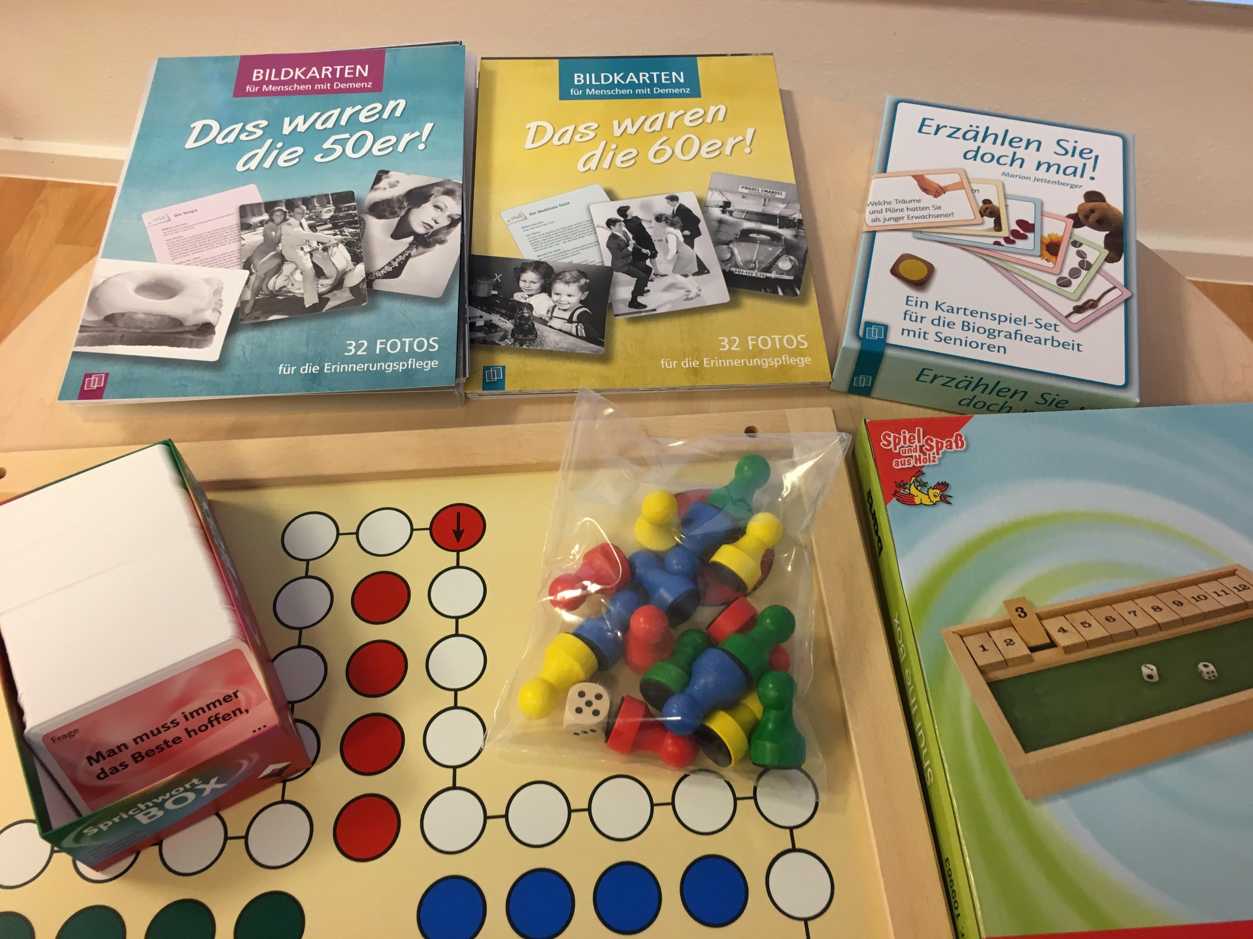 Spiele für die Betreuung